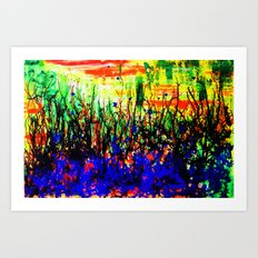 Intangible Forest Art Print