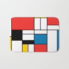 Mondrian  Bath Mat