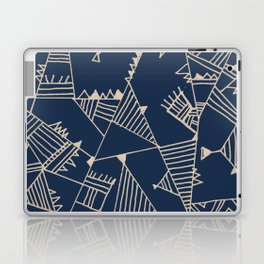 Fill With Authentic Geo Blue Laptop & iPad Skin