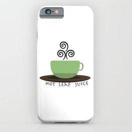 Hot Leaf Juice iPhone Case
