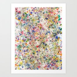 Abstract Artwork Colourful #7 Art Print