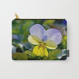 Pansy Perfection Carry-All Pouch