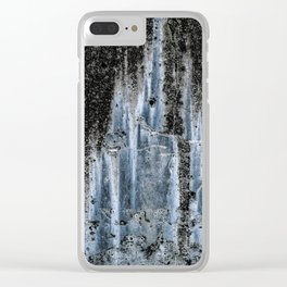 Ocean Analog Clear iPhone Case