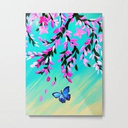 Butterfly Vertical Print Metal Print