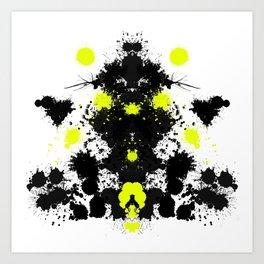 Rorschach 10 Art Print