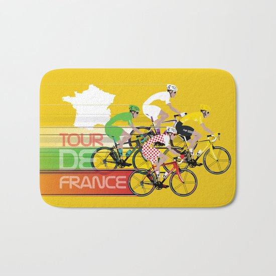 Tour De France Bath Mat