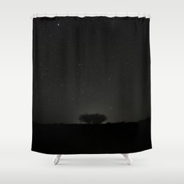 African Night Shower Curtain