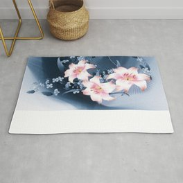 Lilien - lilies Rug