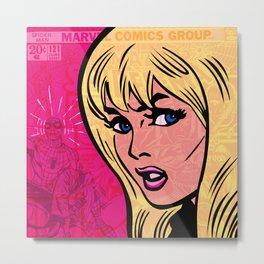 Gwen Stacy, 121 Metal Print
