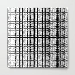 fxck - bmth  Metal Print