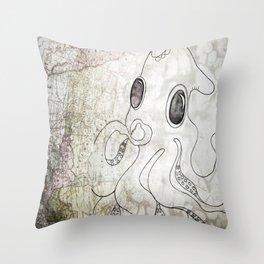 OctoMap Throw Pillow