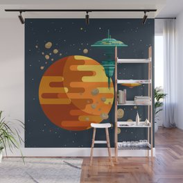 The space base Wall Mural