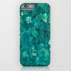 Blue Sugar Crystals Slim Case iPhone 6s