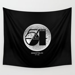 Studio 54 - Discoteque Wall Tapestry