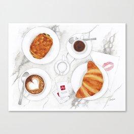 La Colazione dei Campioni Canvas Print