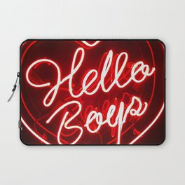 Hello Boys Laptop Sleeve