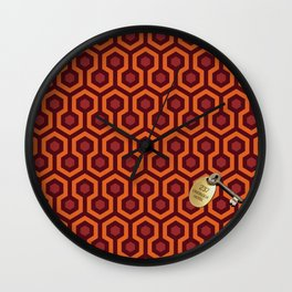 Shining Hotel Room 237 Wall Clock