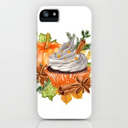 Everything Pumpkin Spice iPhone Case