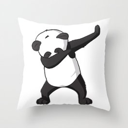 -DAB- Panda DAB Throw Pillow