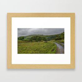 Road to Staveley in the Lake District Framed Art Print