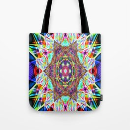 Hyper Hexahedron Tote Bag