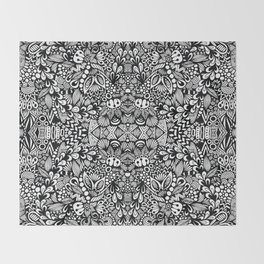 Zentangle  Throw Blanket