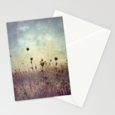 Her Mind Wandered in Beautiful Worlds Stationery Cards