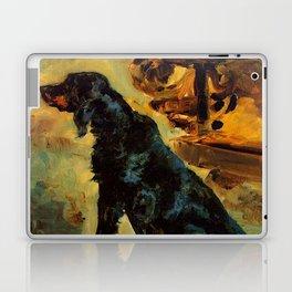"""Henri de Toulouse-Lautrec """"Dun, a Gordon Setter Belonging to Comte Alphonse de Toulouse Lautrec"""" Laptop & iPad Skin"""