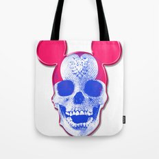 Mickey Mouse Skullface (aka Norman Bates' Dad) Tote Bag