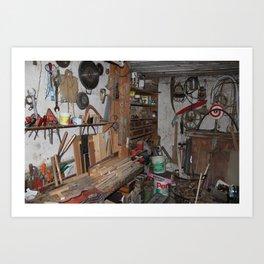 Beloved Garage Art Print