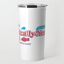 Politically Neutral Fish Travel Mug