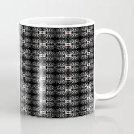 Spider Pipes in Black, Red, and White Coffee Mug