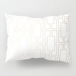 Simply Mid-Century in White Gold Sands Pillow Sham
