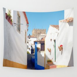 Portugal, Obidos (RR 184) Analog 6x6 odak Ektar 100 Wall Tapestry