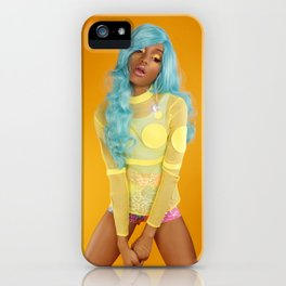 Barbarella iPhone Case