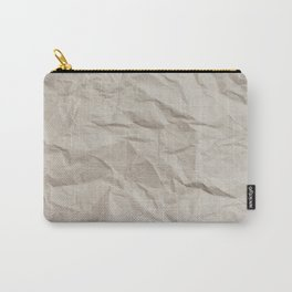 Wrinkly Crumply Carry-All Pouch