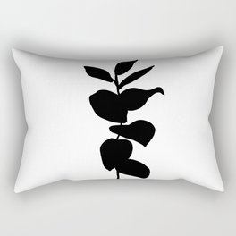 Leaves ink painting - Evie Rectangular Pillow