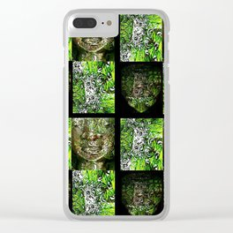Buddah series 30 Clear iPhone Case