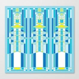 FL Wright Design Canvas Print