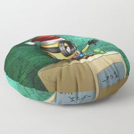 Minion love Floor Pillow