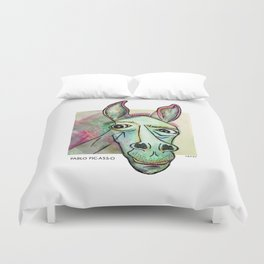 Pablo Pic-Ass-O Duvet Cover