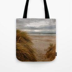 Bamburgh Beach Tote Bag