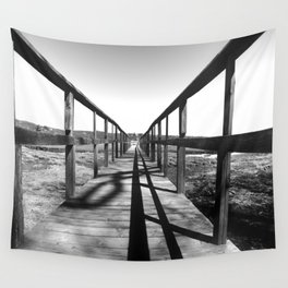 Theodore Roosevelt Beach Path Wall Tapestry