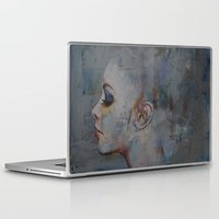 ballerina Laptop & iPad Skins featuring Ballerina by Michael Creese