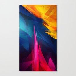Geometric Colors Canvas Print