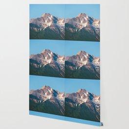 Cascade Mountain Clouds Wallpaper