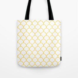 Yellow Scallops Tote Bag