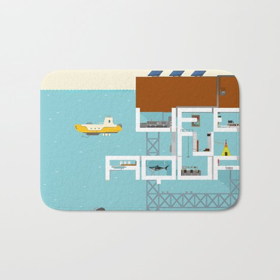 LIFE IN AQUA Bath Mat