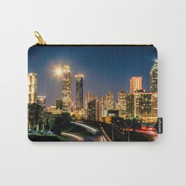 Moonset over Atlanta Carry-All Pouch