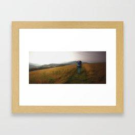 Time to Wander Framed Art Print